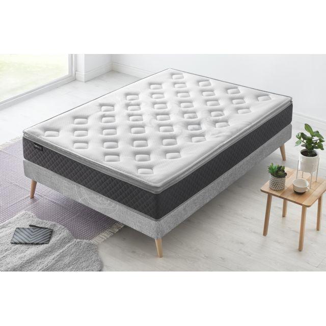 bobochic matelas fraicheur 90x190 achat vente matelas mousse et m moire de forme pas chers. Black Bedroom Furniture Sets. Home Design Ideas