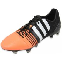 buy popular 44bab e28ab Adidas - NITROCHARGE 1.0 FG BKS - Chaussures Football Homme Noir 43 1 3
