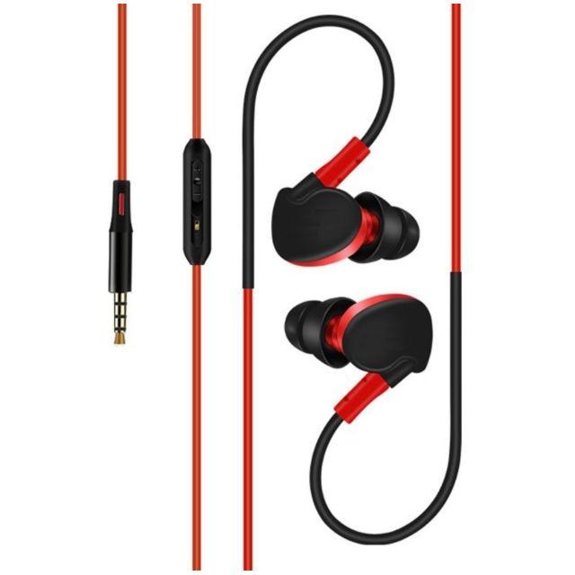 Shot ecouteurs sport pour lg nexus 4 smartphone avec micro et bouton reglage son kit main libre intra auriculaire jack univer