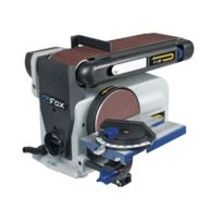 Fox - Ponceuse à bande 100 mm - disque Ø 150 mm - 370 W