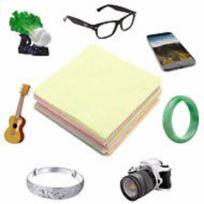 29824bdd03691f Sans Marque - lot de 10 Tissu Microfibre, Chiffon Nettoyage pour lunette,  écran téléphone