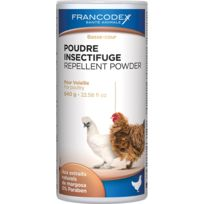Francodex - Poudre insectifuge volaille poudreur 640g