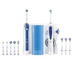 oral b pro 5000 combin dentaire oxyjet brosse dents rechargeable et hydropulseur avec. Black Bedroom Furniture Sets. Home Design Ideas