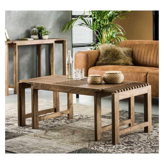 Mathi Design Bali - Table Basse extensible