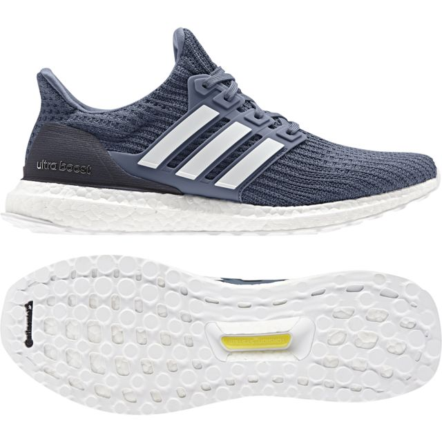 Adidas Chaussures Ultraboost bleu foncéblancgris clair