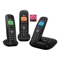 GIGASET - Téléphone répondeur sans fil trio A540A