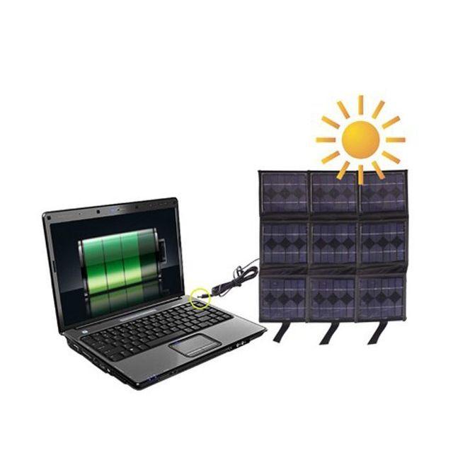 yonis panneaux solaires chargeur portable batterie nomade 9 x 2 5 v pas cher achat vente. Black Bedroom Furniture Sets. Home Design Ideas