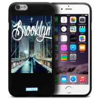 Inkova - Coque Housse Pour iPhone 6 / 6s 4.7 Semi Rigide Gel Tpu Souple Extra Fine Street Design - City Brooklyn