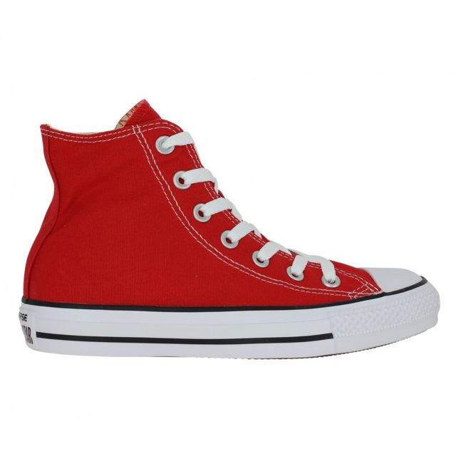 Converse - Chuck Taylor All Star Hi toile Femme-37-Rouge ...