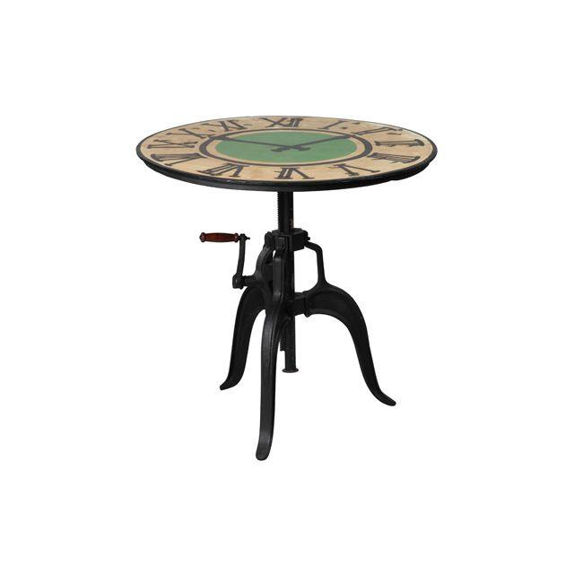 Table à crémaillère en fonte Atelier Metal