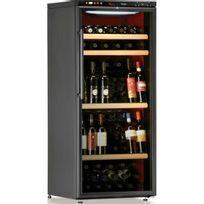Calice - Cave à vin de service - Multi-Températures temp 100 bouteilles - Noir Aci-cal204P - Pose libre