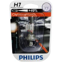 Philips - Ampoule phare CityVision Moto +40% H7 12V 55W Px26D