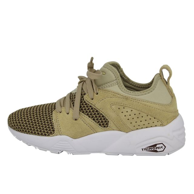 Blaze Of Glory Soft Chaussures Mode Sneakers Homme Beige Trinomic