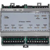 Cartelectronic - Carte 8 relais en Bus 1Wire