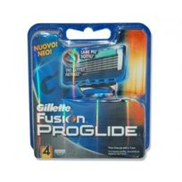 Gillette - Fusion Proglide 4 Pieces De Rechange