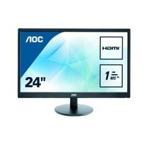 "AOC - E2470SWH 24"" TN Full HD 1ms"