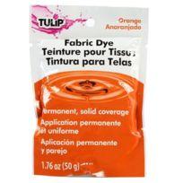 Tulip - 28913 1 Paquet De Teinture Permanente 50 G Pour Tissu Orange
