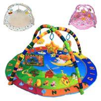 Tapis d'éveil bébé éducatif et musical + jouets - Petit Ange