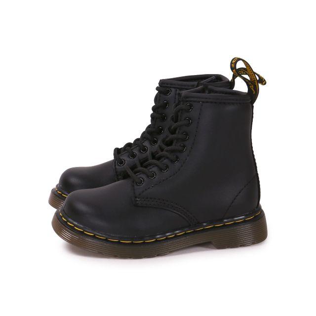 98b2021937851 Dr. Martens - Brooklee Bébé Noire - pas cher Achat   Vente Boots ...