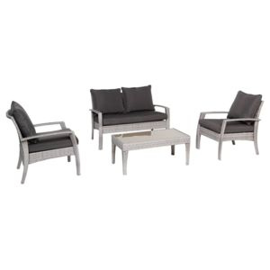 hesperide salon de jardin en r sine tress e cilaos gr ge hesp ride 1 pas cher achat. Black Bedroom Furniture Sets. Home Design Ideas