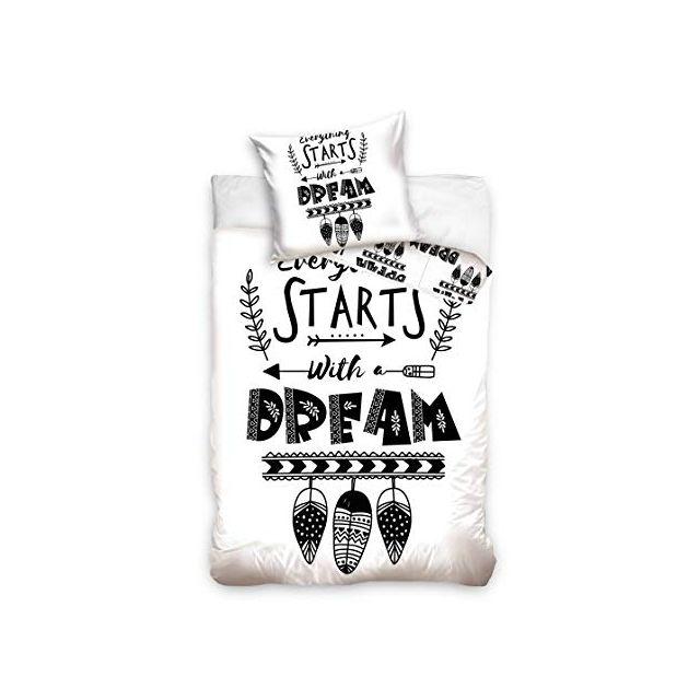 Bebe Gavroche Parure de lit Dream 100% coton 140x200 cm