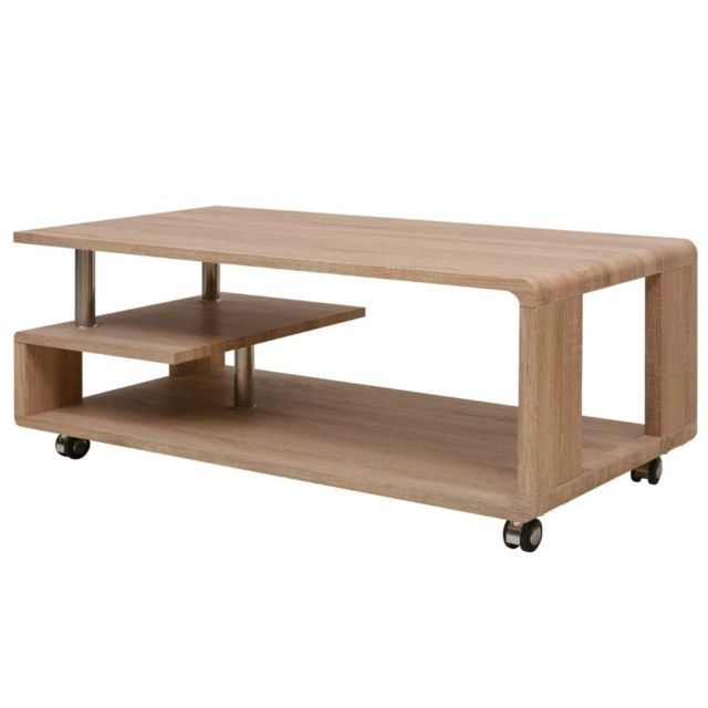 Vidaxl Table basse Marron