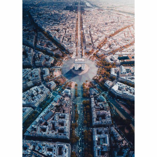 Ravensburger Puzzle 1000 pièces : Paris vue d'en haut