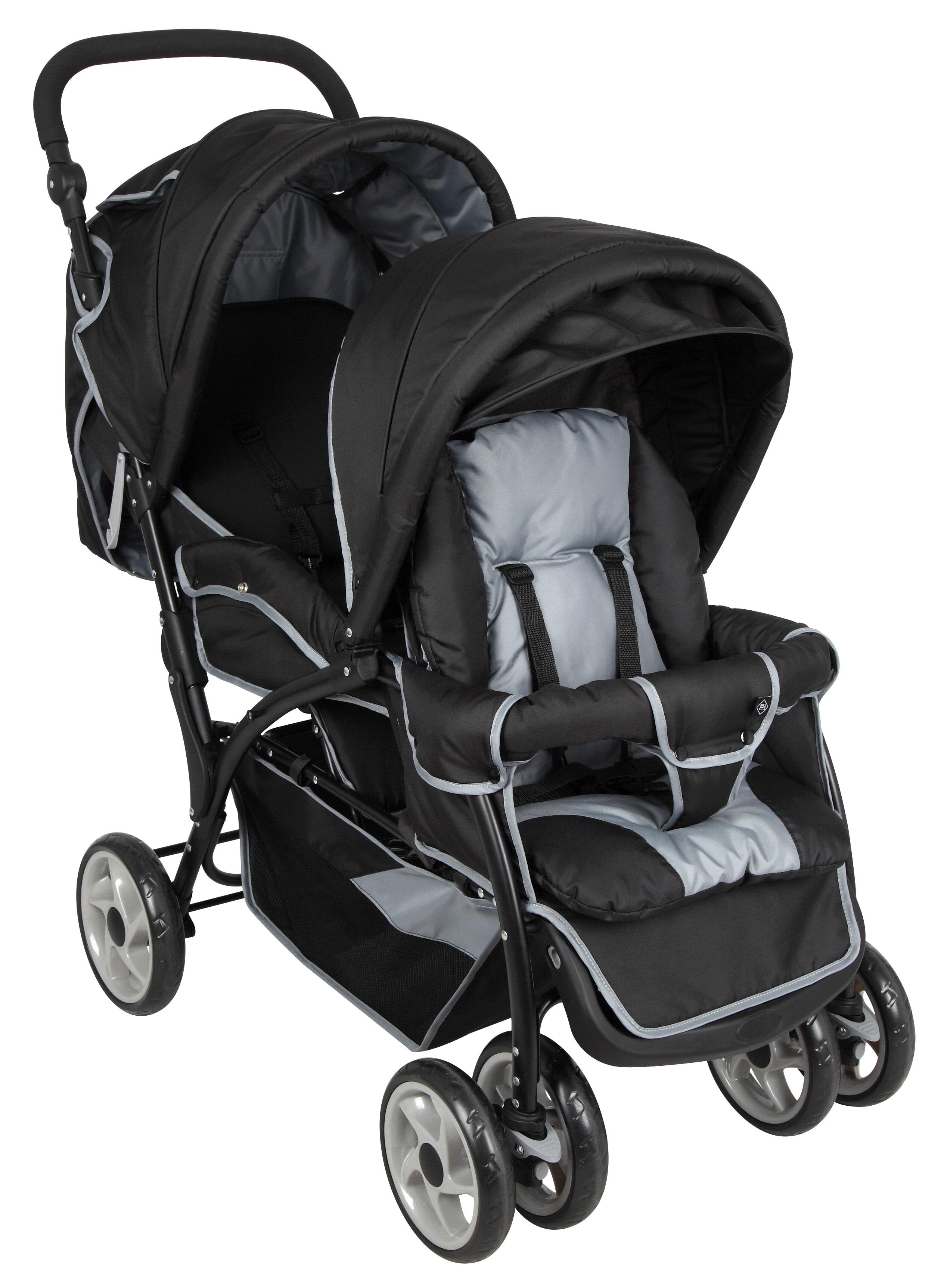 Idéal pour les enfants d âge rapproché, la poussette double TEX BABY vous  permet de sortir vos enfants en toute sécurité. ec5020301905