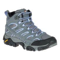 Merrell - Chaussures de marche Moab 2 Mid Gtx gris femme