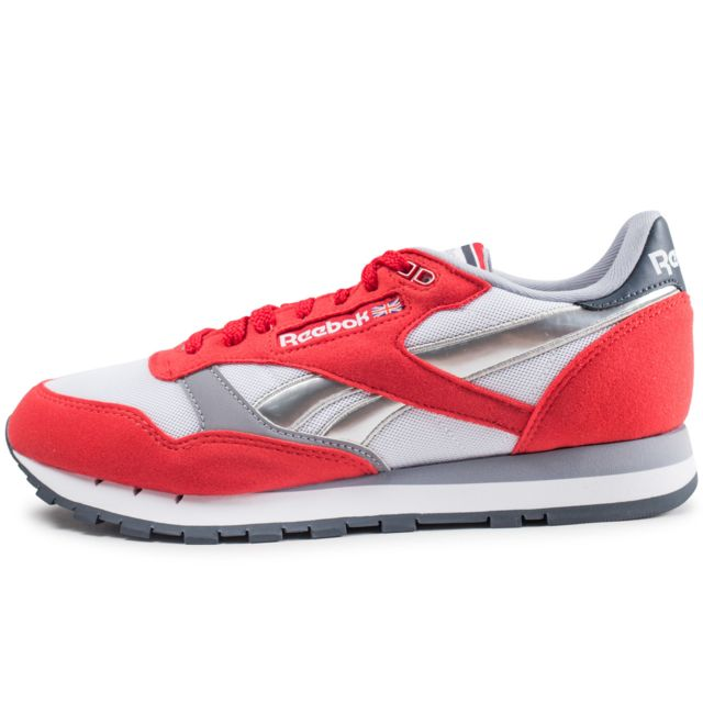 reebok chaussures hommes red noir classic