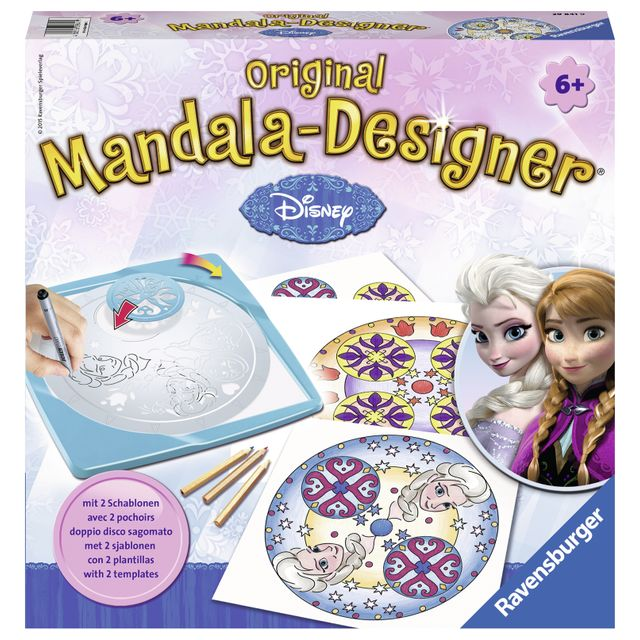 RAVENSBURGER Mandala Designer Licence La Reine des Neiges - 29841