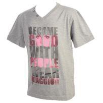 Biaggio - Tee shirt manches courtes Loumalos grc/fus mc tee k Gris 78987