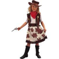 Euro Carnavales - Déguisement Cowgirl - Fille10/12 ans 138 à 150 cm