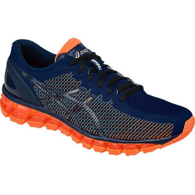 b6edf451e19 Asics - Gel-Quantum 360 T6G1N-4101 Mens Baskets Orange - pas cher Achat    Vente Chaussures running - RueDuCommerce