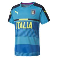 Puma - Replica Italia Figc Atomic Bleu Maillot Nation Homme Football