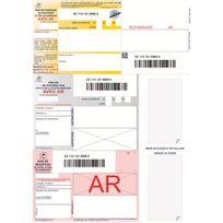 Techmay - Imprimés recommandés A4 - boîte de 150