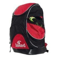 Jaked - Sac à dos de natation Atlantis Xl Backpack noir rouge