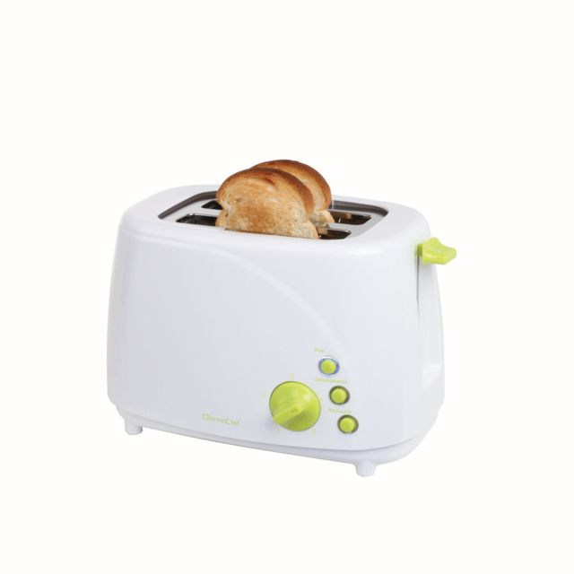 DOMOCLIP Grille-pain blanc vert DOD150BV