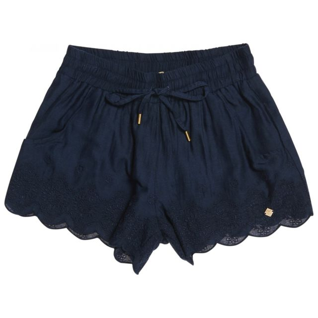 Superdry - Short Jenna Embroidered Edge Eclipse Navy Bleu Marine - XS - pas  cher Achat   Vente Short femme - RueDuCommerce 0c442e4b049