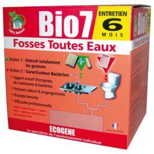 ecogene bio7 sp cial fosses toutes eaux 12 sachets. Black Bedroom Furniture Sets. Home Design Ideas