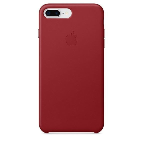 APPLE iPhone 8 Plus/7 Plus Leather Case - PRODUCT, RED
