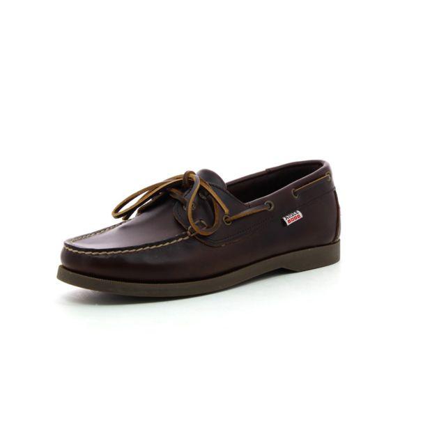 a61593147c2d4 Aigle - Chaussure bateau America 2 - pas cher Achat   Vente Mocassins -  RueDuCommerce
