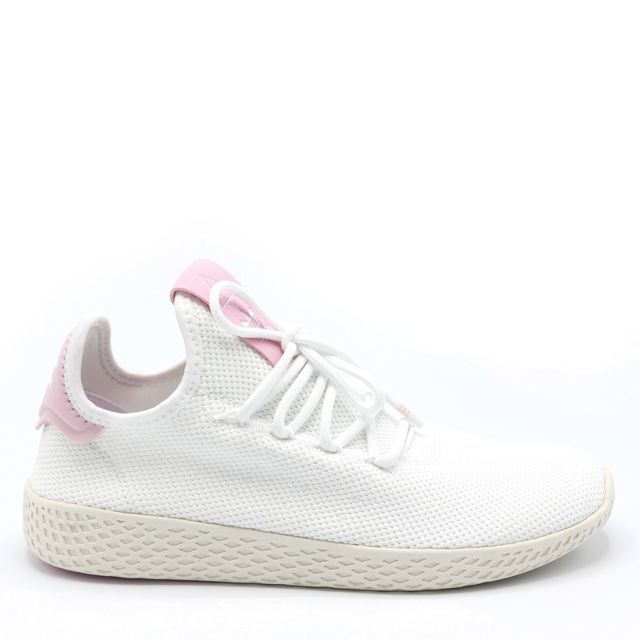 Adidas - Basket Pw Tennis Hu W Blanc - pas cher Achat ...
