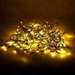 Alinéa - Lumière de Noël Guirlande électrique clignotante 160 Led blancs chauds - L3.80m