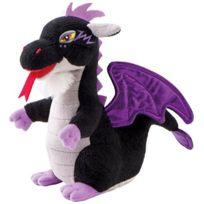 Trudi - 52428 - Peluche - Mini Dragon - Noir - 14 Cm