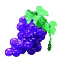 Hcm Kinzel - Puzzle 3D - 46 pièces - Grappe de raisin : Violet