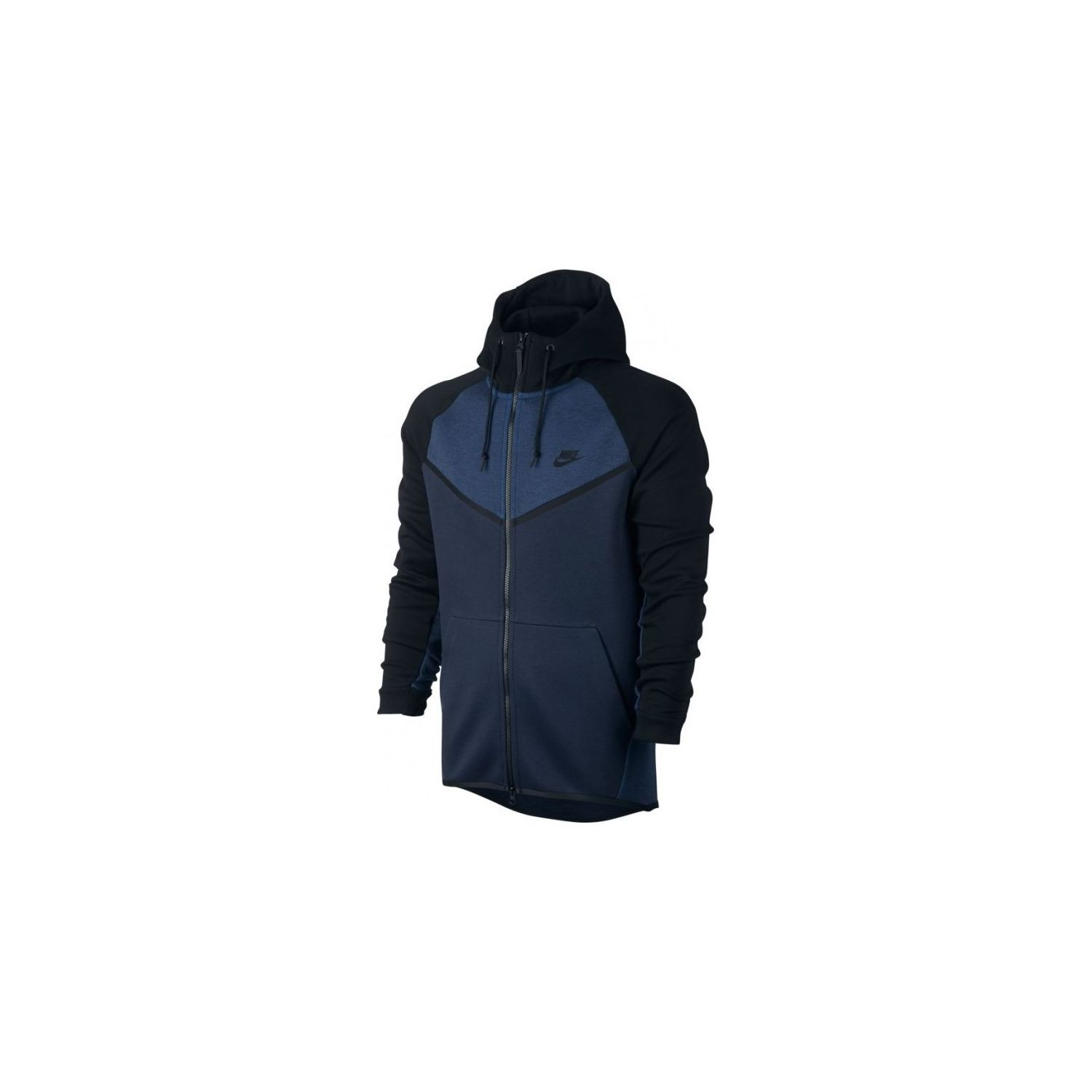 6c586cd014f09 NIKE- Sweat à capuche Sportswear Tech Fleece Windrunner - 885904-473 - Noir