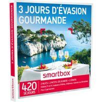 Smartbox - 3 jours d'évasion gourmande - 420 séjours partout en France ou en Europe : hôtels 3 et 4 , maisons dhôtes, châteaux, manoirs ou domaines - Coffret Cadeau