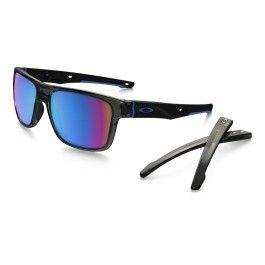 ae927871375a7b Oakley - Lunettes Oakley Crossrange gris avec verres Prizm Snow Sapphire