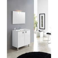 Meuble salle bain profondeur 40 cm achat meuble salle - Rue du commerce meuble salle de bain ...